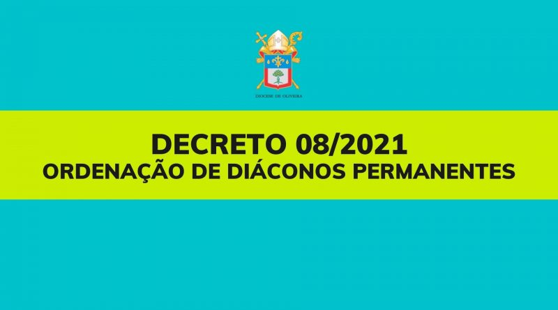 Decreto Diocese de Oliveira